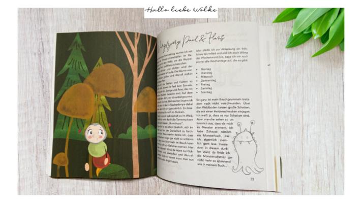 Kinderkochbuch mit Geschichte zum Vorlesen 22 Rezepte von Wilma Wochenwurm