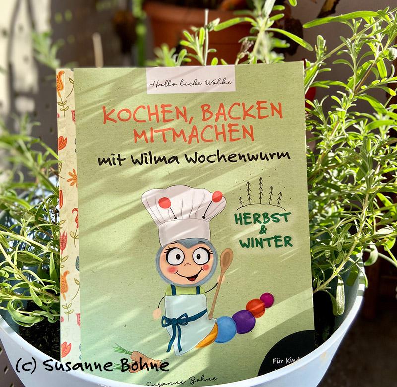 Kinderkochbuch mit Wilma Wochenwurm
