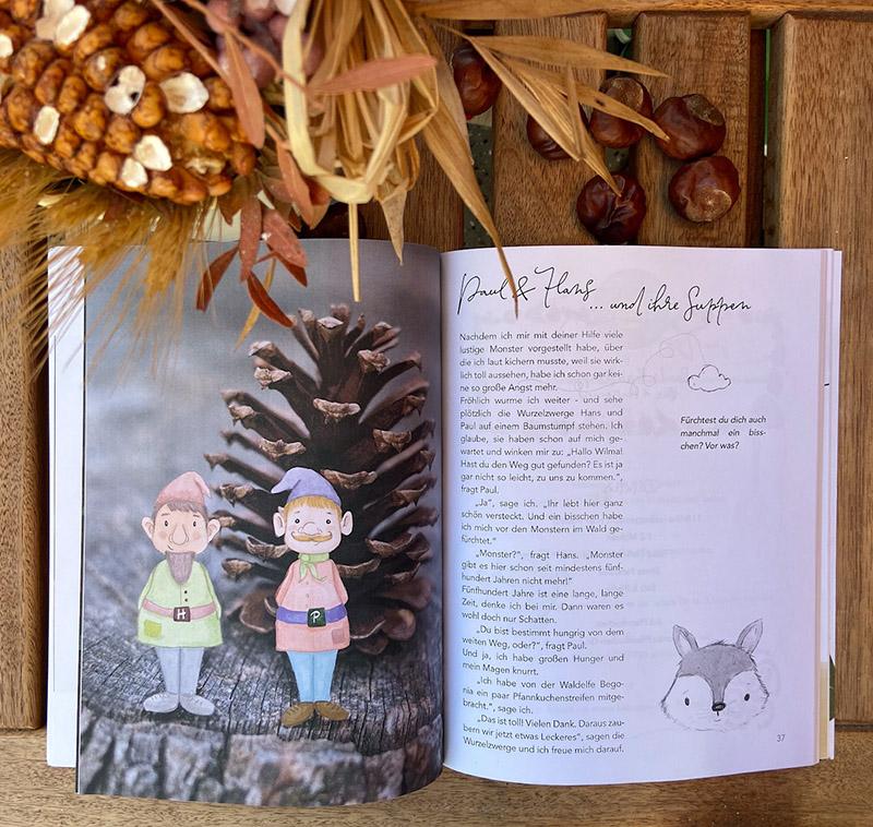 Kinderkochbuch mit Wilma Wochenwurm Suppen Herbst Winter Kinder Rezept