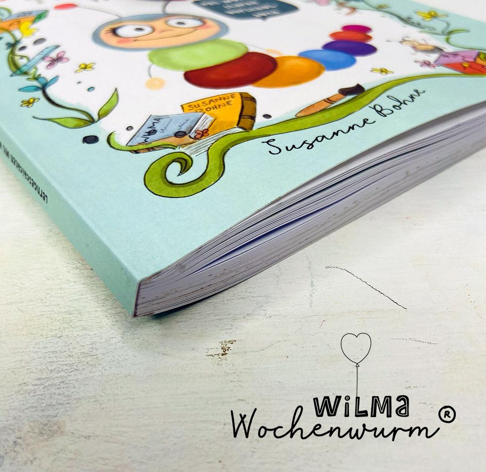 Lerngeschichten mit Wilma Wochenwurm das wurmstarke Vorschulbuch Seitenansicht Susanne Bohne