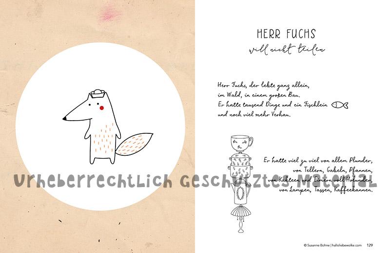 Wilma Wochenwurm Bücher Herr Fuchs will nicht teilen aus Lerngeschichten Neuausgabe
