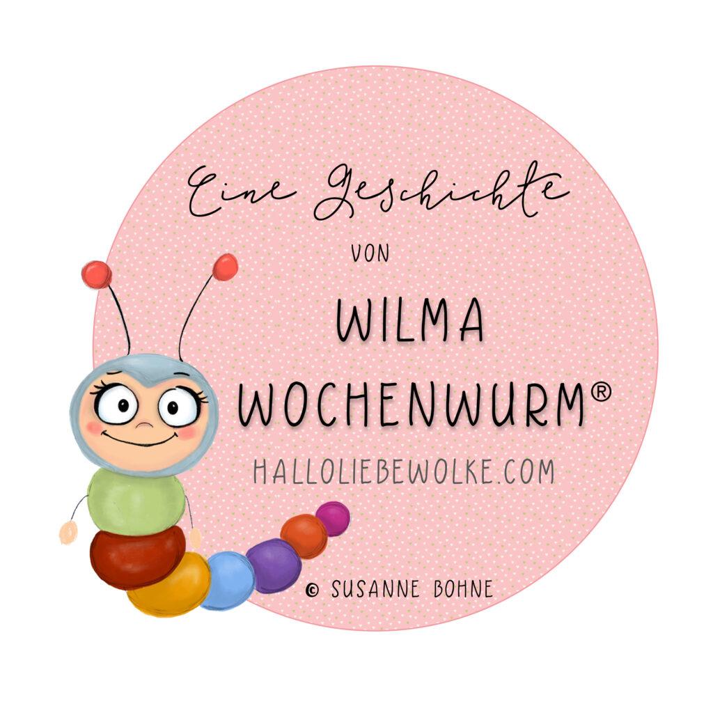 Wilma Wochenwurm Copyright-Badge von Susanne Bohne