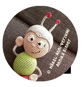 Wilma Wochenwurm Puppe Häkeln Anleitung Häkelanleitung