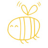 Wochentage lernen mit Wilma Wochenwurm Gelb