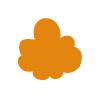 Wochentage lernen mit Wilma Wochenwurm Orange